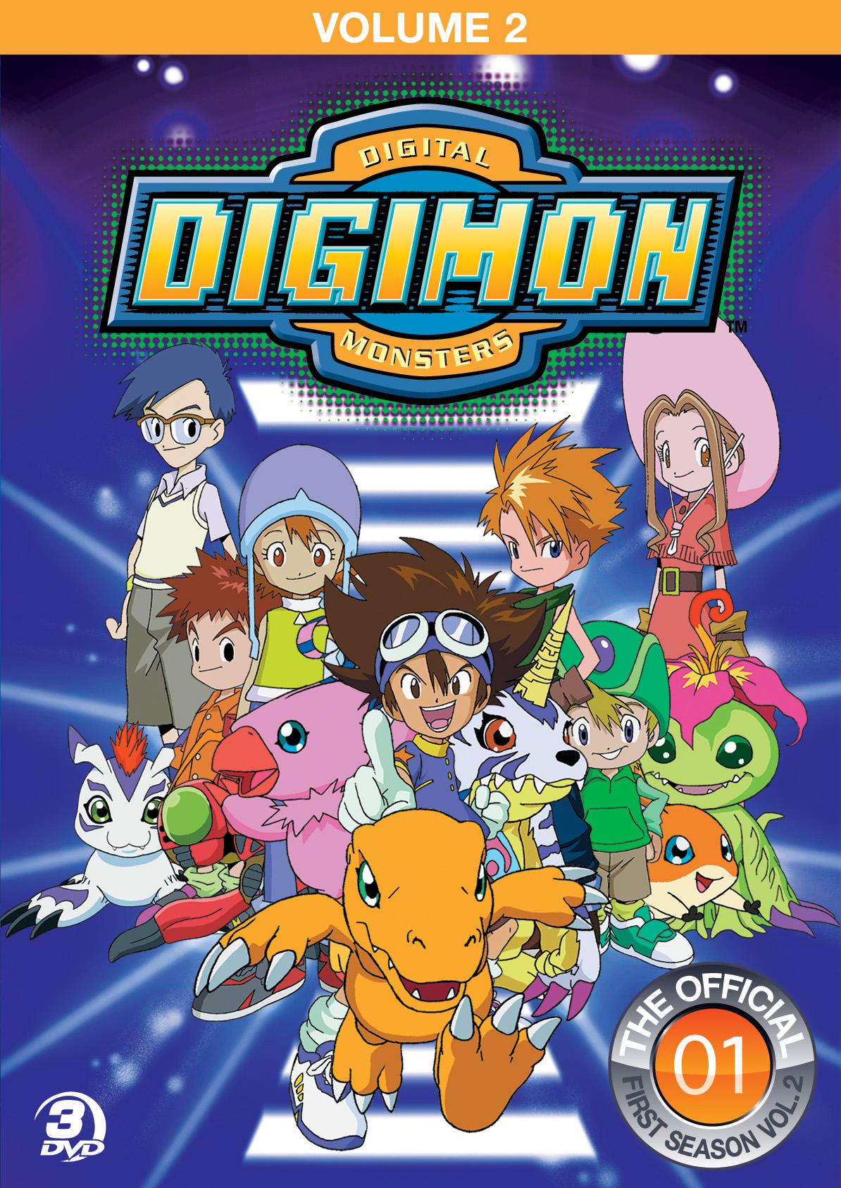 Digimon Season 3 Characters Digimon season 1 volume 2